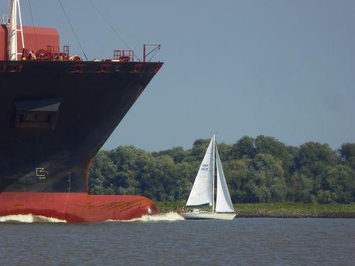 sailing boat maritime water