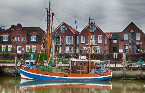 sailing boat east frisia lower saxony
