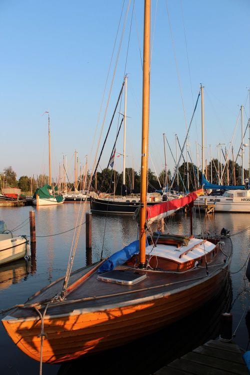 sailing boat sail wood