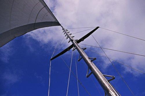 sailing boat  sailing vessel  sail