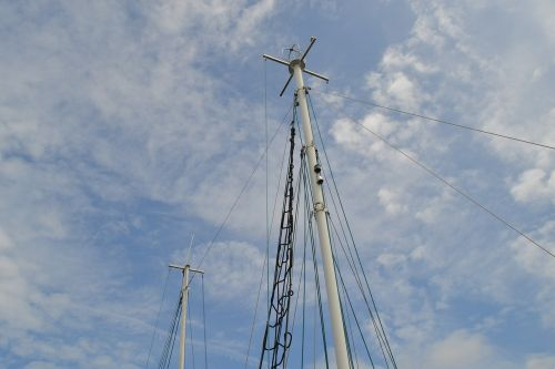 sailing boat mast sailing mast