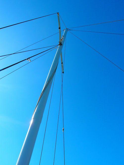 sailing boat mast yacht