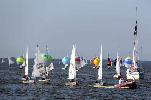 sailing boats sailing water