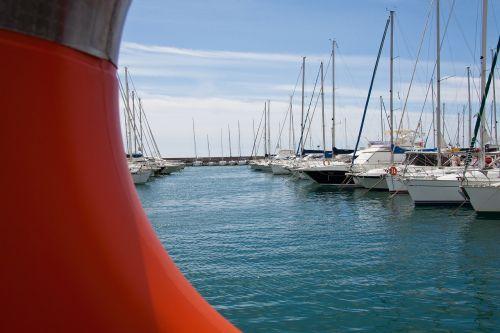 sailing boats yacht port