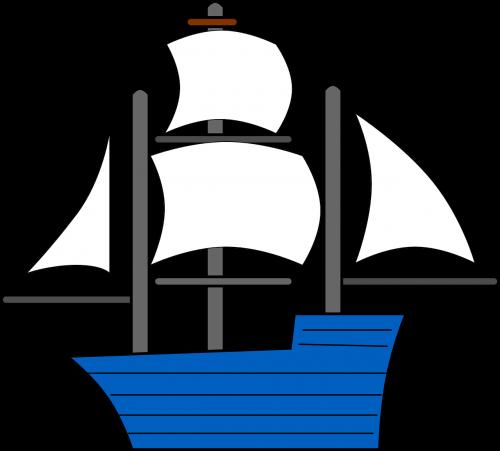 sailing ship ship sails