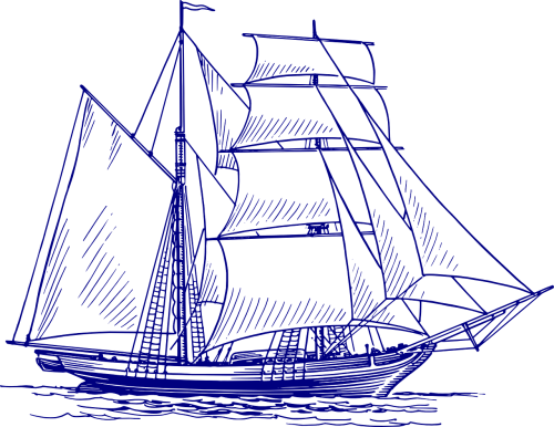 sailing ship ship sailing vessel