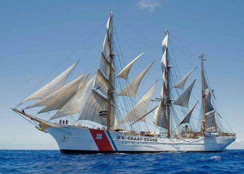 sailing ship coast guard usa