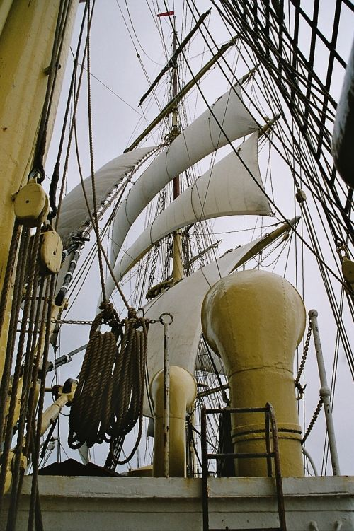 sailing vessel rigging sail