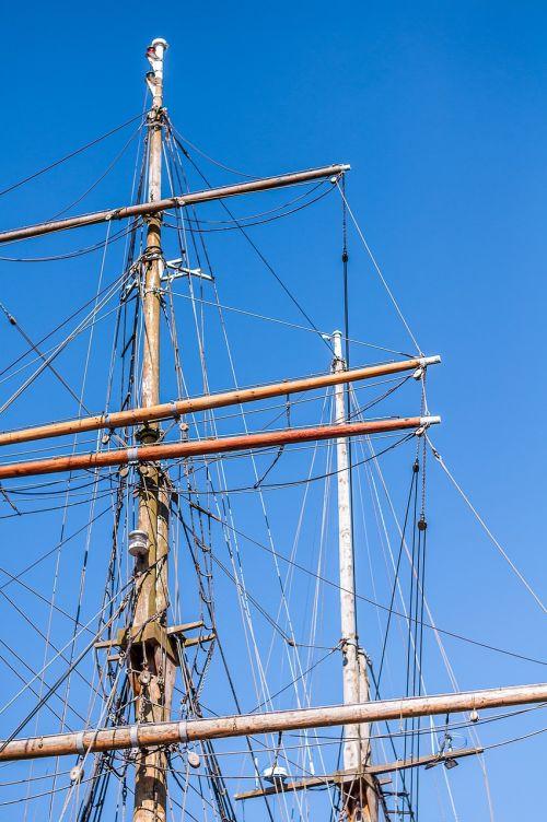 sailing vessel mast sailing boat