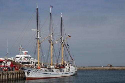 sailing vessel grand duchess elisabeth helgoland