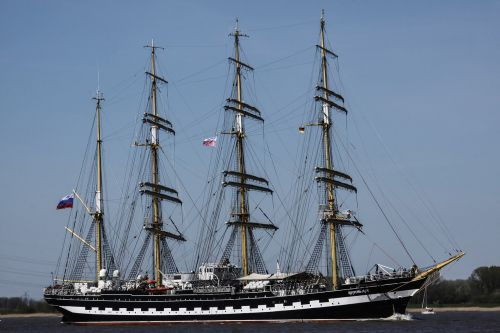 sailing vessel water four master