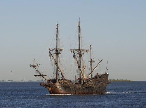 sailing vessel  galeon andalucia  galleon