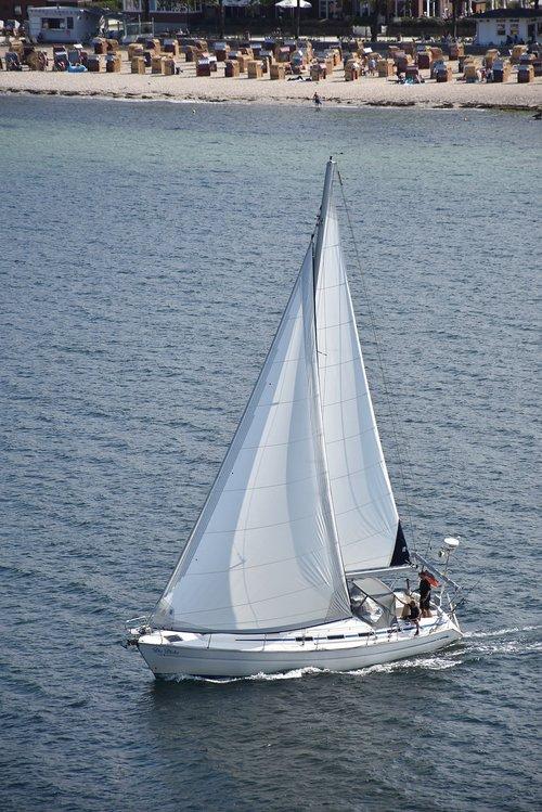 sailing vessel  kiel-oslo  sea