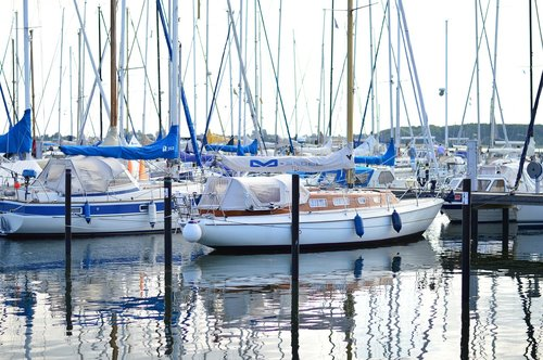 sailing yacht  boat  port