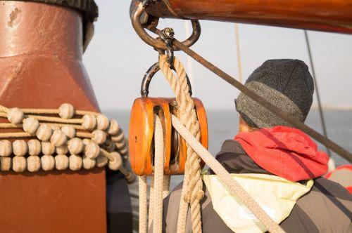 sailor sea boat