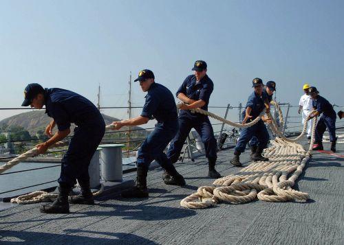 sailors crew ship