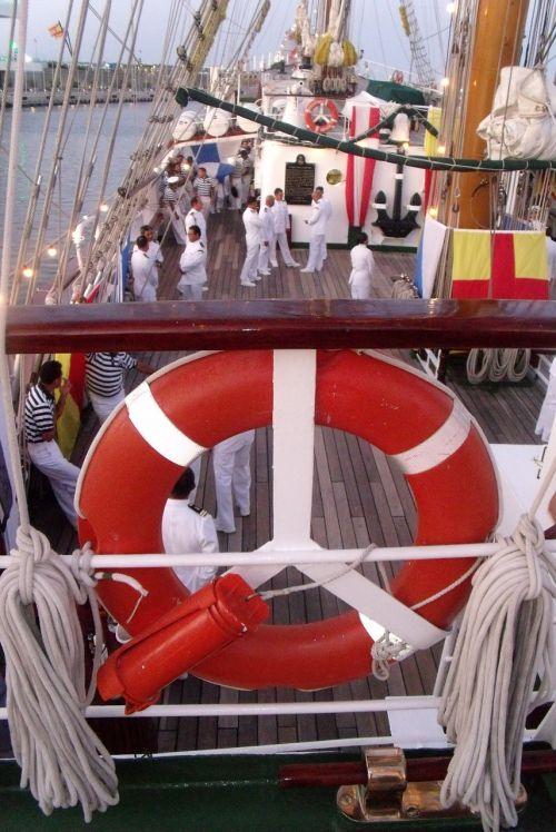 sailors boat ship