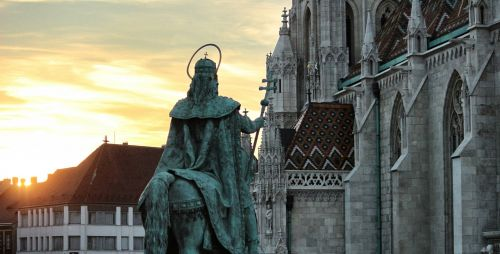 saint church statue