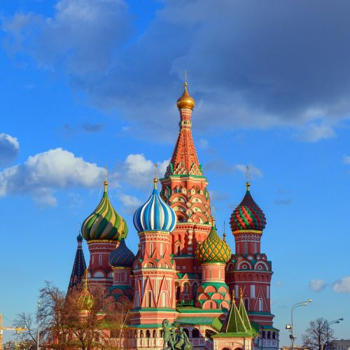 saint basil's cathedral red square moscow