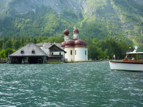 saint batholomä king lake bavaria