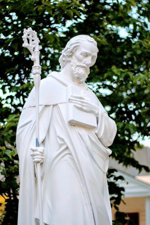 saint benedict statue catholic