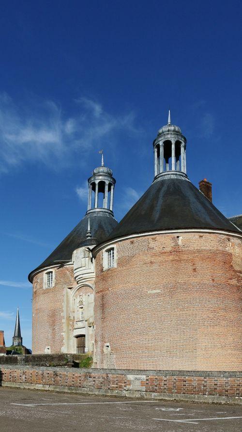 saint fargeau castle france