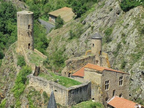 saint-floret france castle