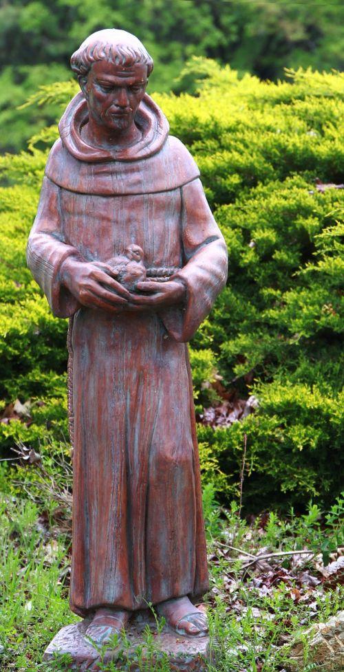 saint francis of assisi saint statue