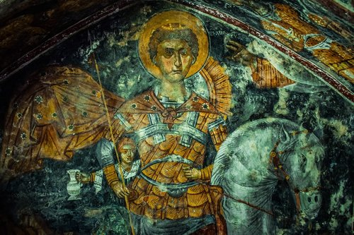 saint george  ayios georgios  iconography
