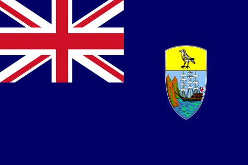saint helena flag national flag