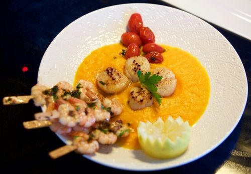 saint jacques nuts tjena-kitchen shrimp