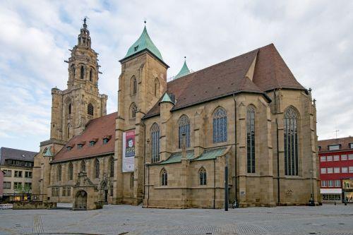 saint kilian's church heilbronn baden württemberg