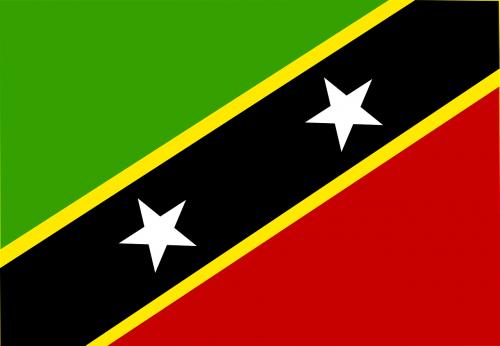 saint kitts and nevis flag symbol