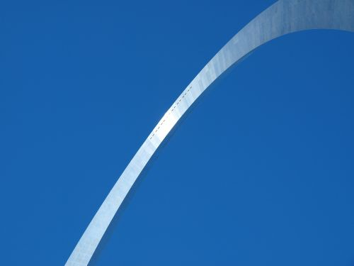 saint louis arch steel