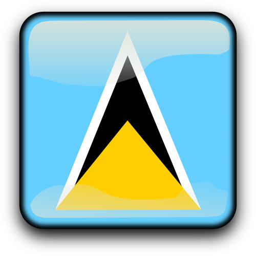 saint lucia flag country