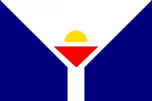 saint martin flag unofficial