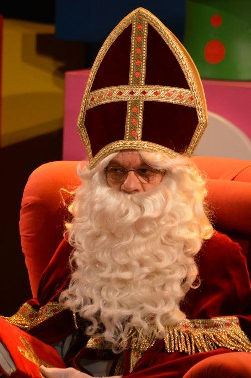 saint nicholas sint nicolaas white beard