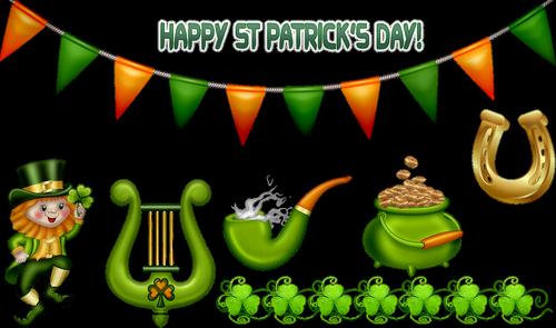 saint patrick's day  march 17  leprechaun