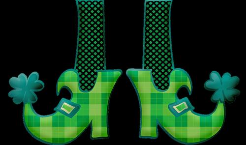 saint patrick's day  march 17  leprechaun shoes