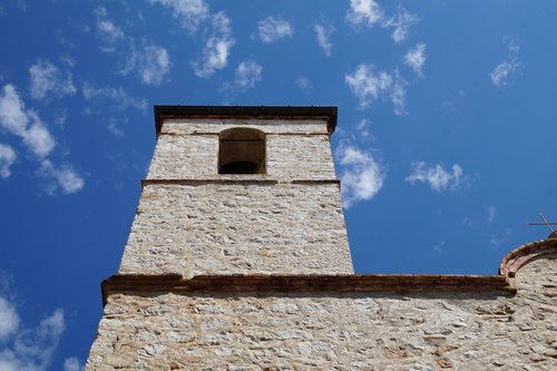 saint paul de vence  church  sky
