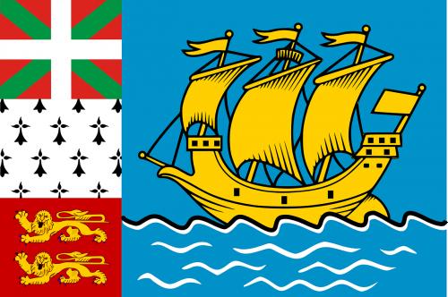 saint-pierre miquelon flag