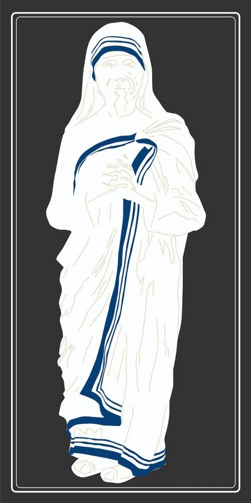 saint teresa of calcutta roman catholic nun indian