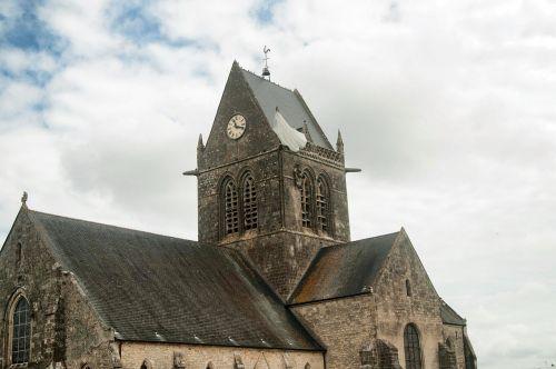 sainte-mère-église normandie church