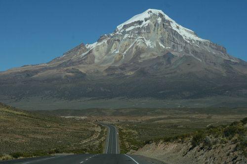 sajama bolivia volcano