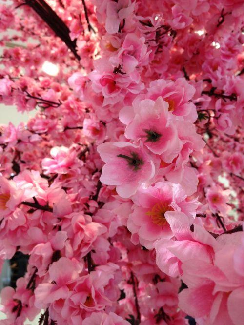 sakura fake flowers