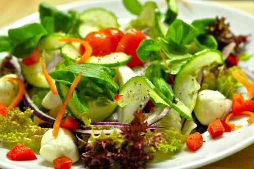 salad salad plate vitamins