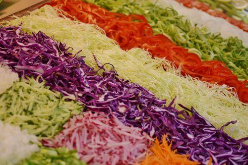 salad frisch vegetables