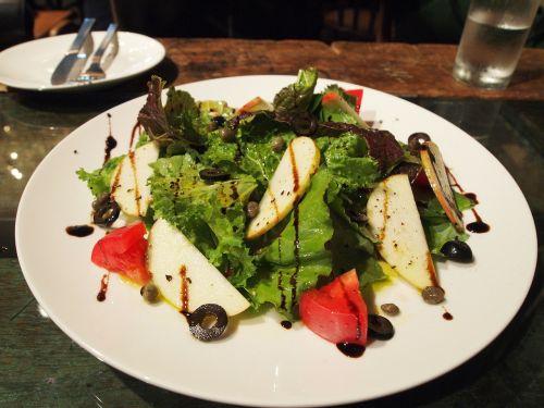 salad balsamic vinegar lettuce