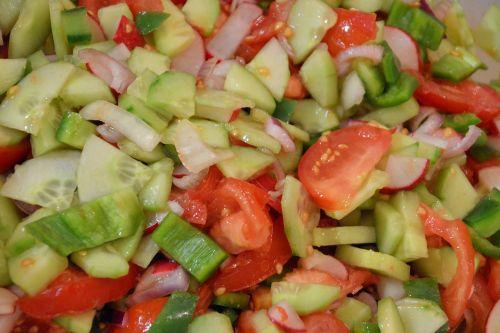 salad mixed mixed salad