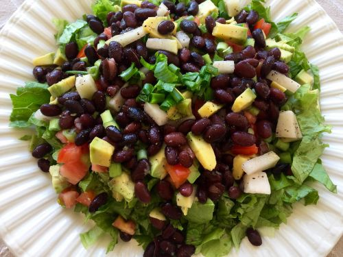 salad whole meal real food